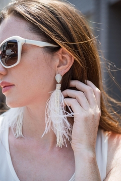 Saachi Ibis Feather Earring - Product List Image