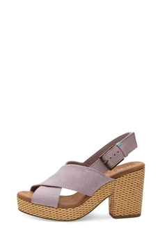 TOMS Ibiza Lilac Sandal - Product List Image
