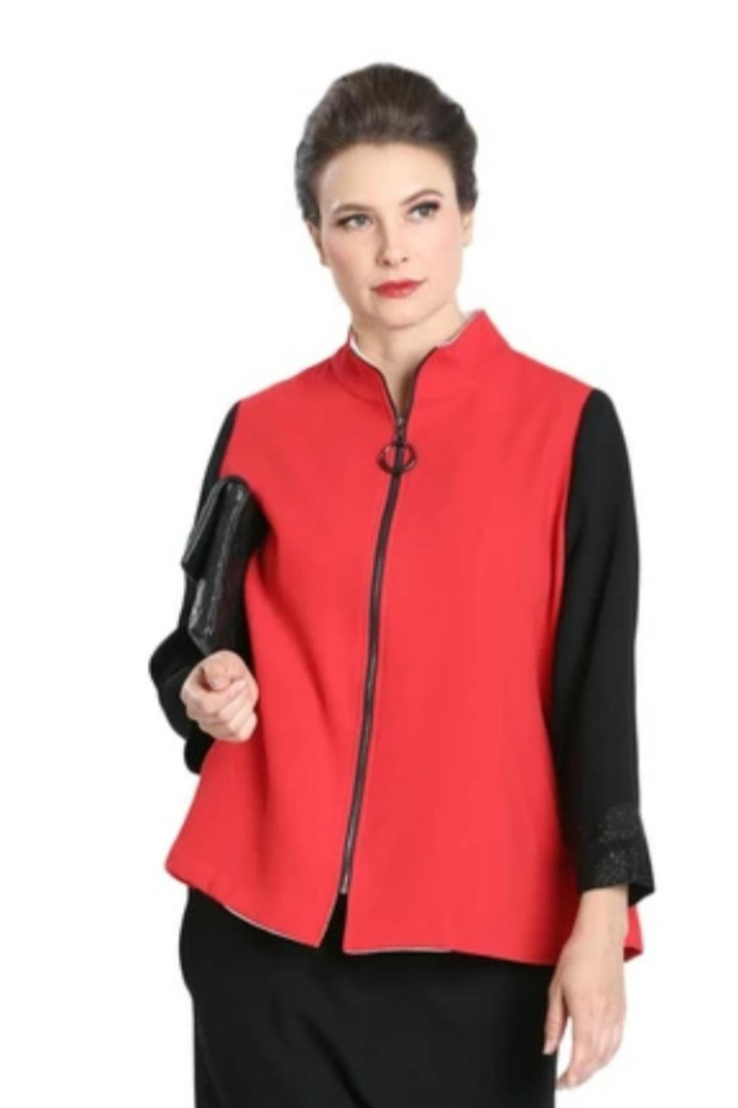 IC Collection Color Bloc Jacket - Main Image