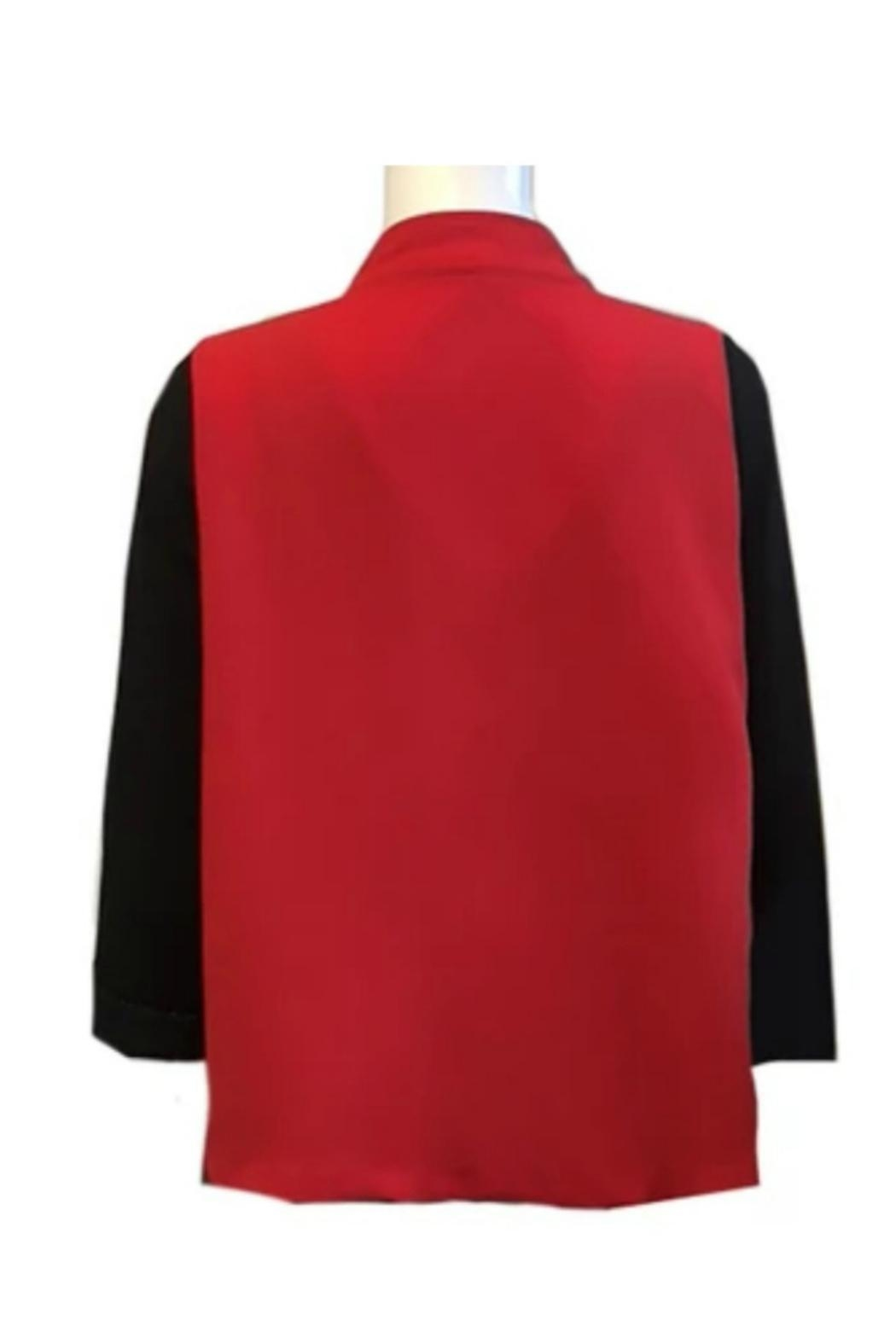 IC Collection Color Bloc Jacket - Side Cropped Image