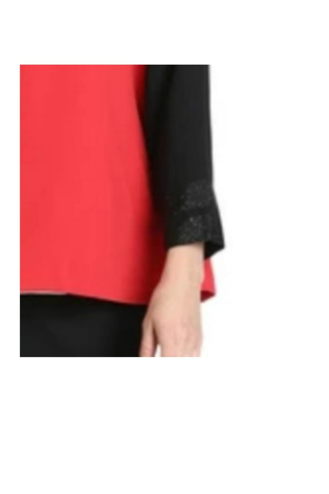 IC Collection Color Bloc Jacket - Back Cropped Image