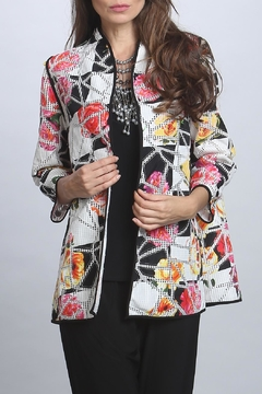 IC Collection Floral Patchwork Jacket - Product List Image