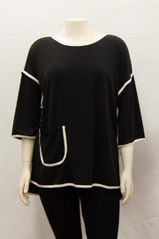 IC Collection Piped-Trim Tunic - Product Mini Image