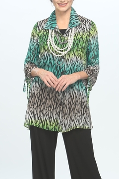 IC Collection Colorful Tunic Blouse - Alternate List Image