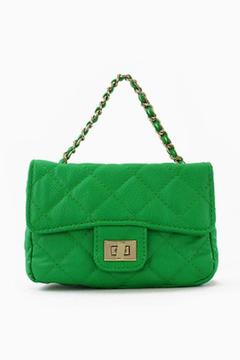 Shoptiques Product: Faux Leather-Quilted Bag