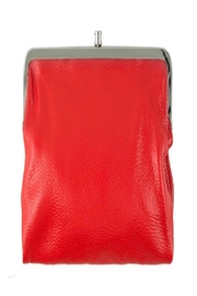 ICCO Red Leather Clutch - Product Mini Image