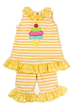 Shoptiques Product: Ice Cream Capri-Set