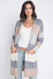 Apricot Lane St. Cloud Ice Cream Cardi - Product Mini Image