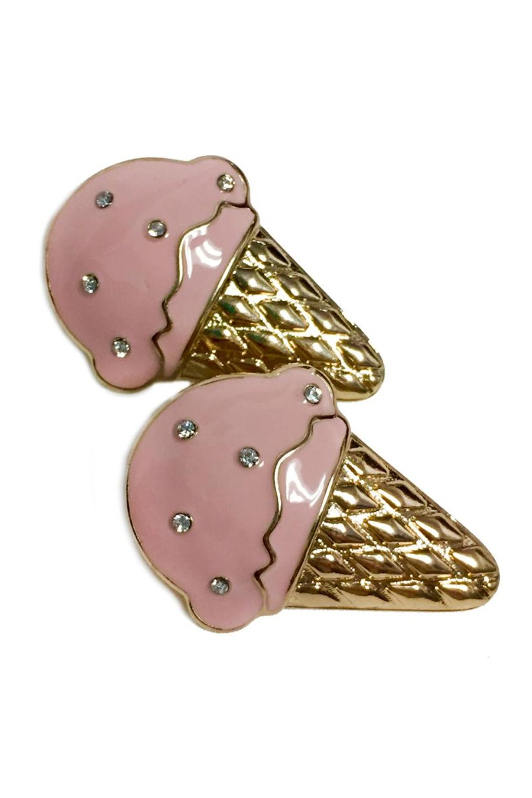 Ice Cream Earrings - Front Cropped Image