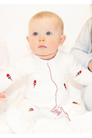 SAMMY & NAT Ice Cream Onesie - Front cropped