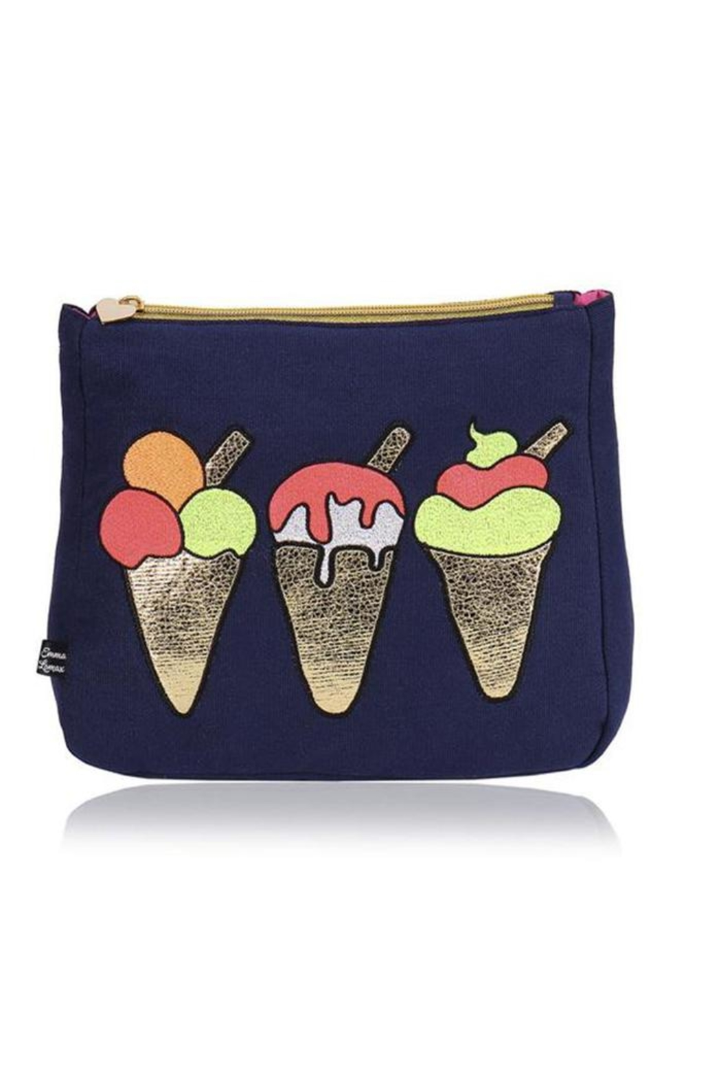 Emma Lomax Ice Cream Pouch - Front Cropped Image
