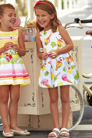 Mayoral Ice-Cream Print Cotton Dress - Other