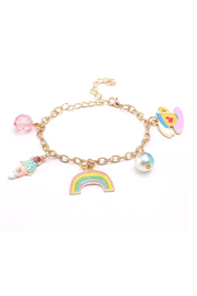 Hopscotch Kids Ice Cream Rainbows Charm Bracelet - Product Mini Image