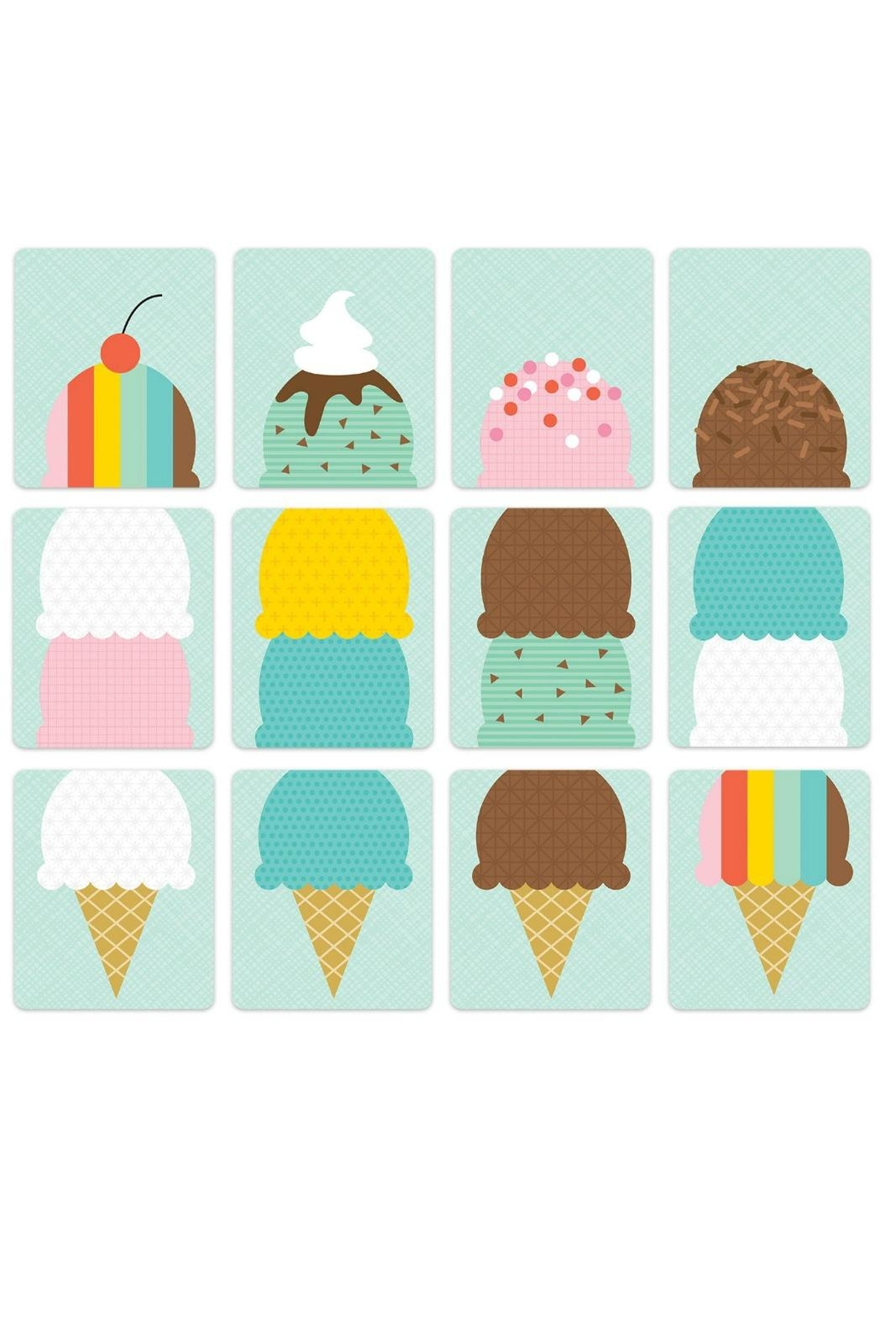 Petit Collage Ice Cream Social - Front Full Image