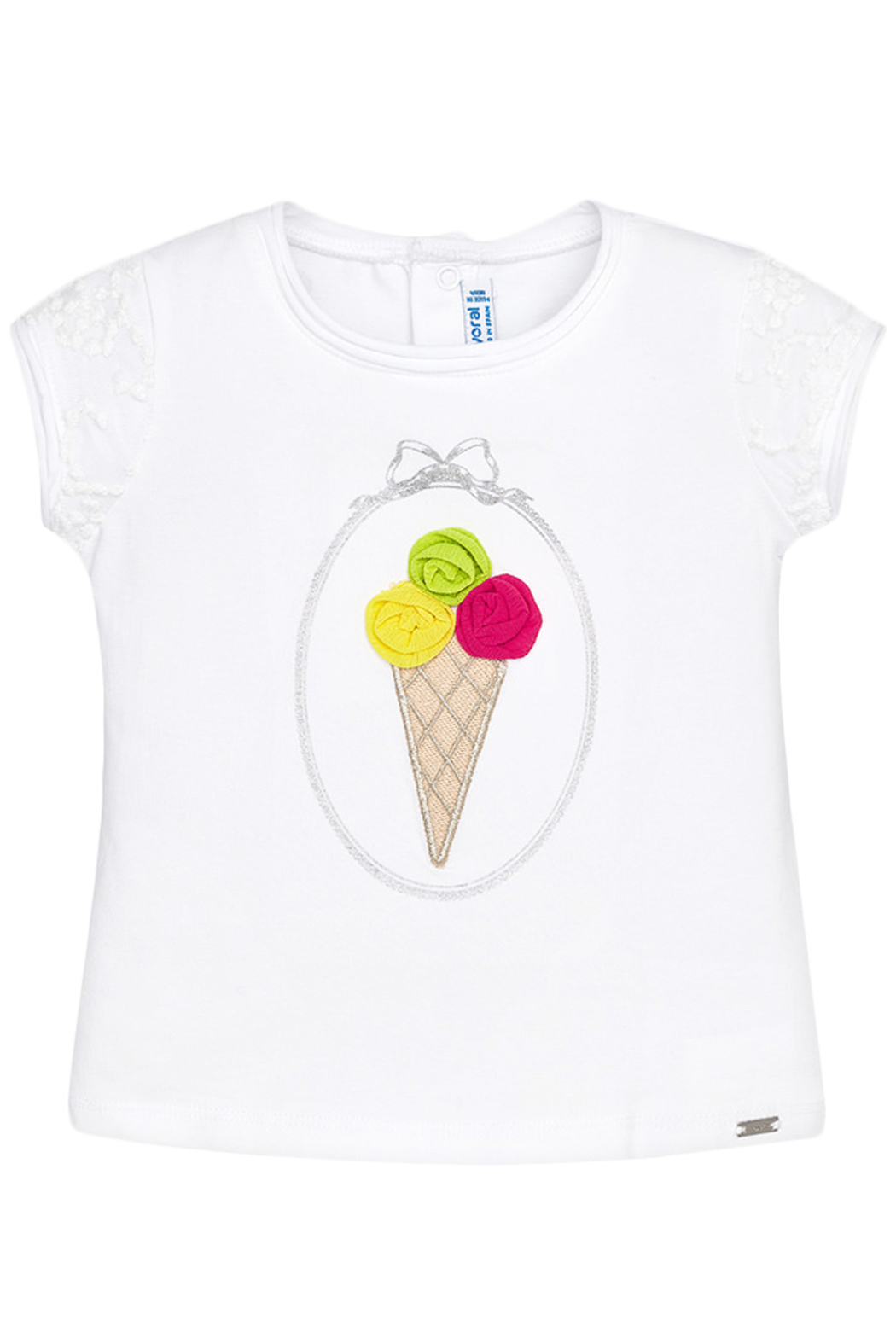 Mayoral Ice Cream T-Shirt - Side Cropped Image