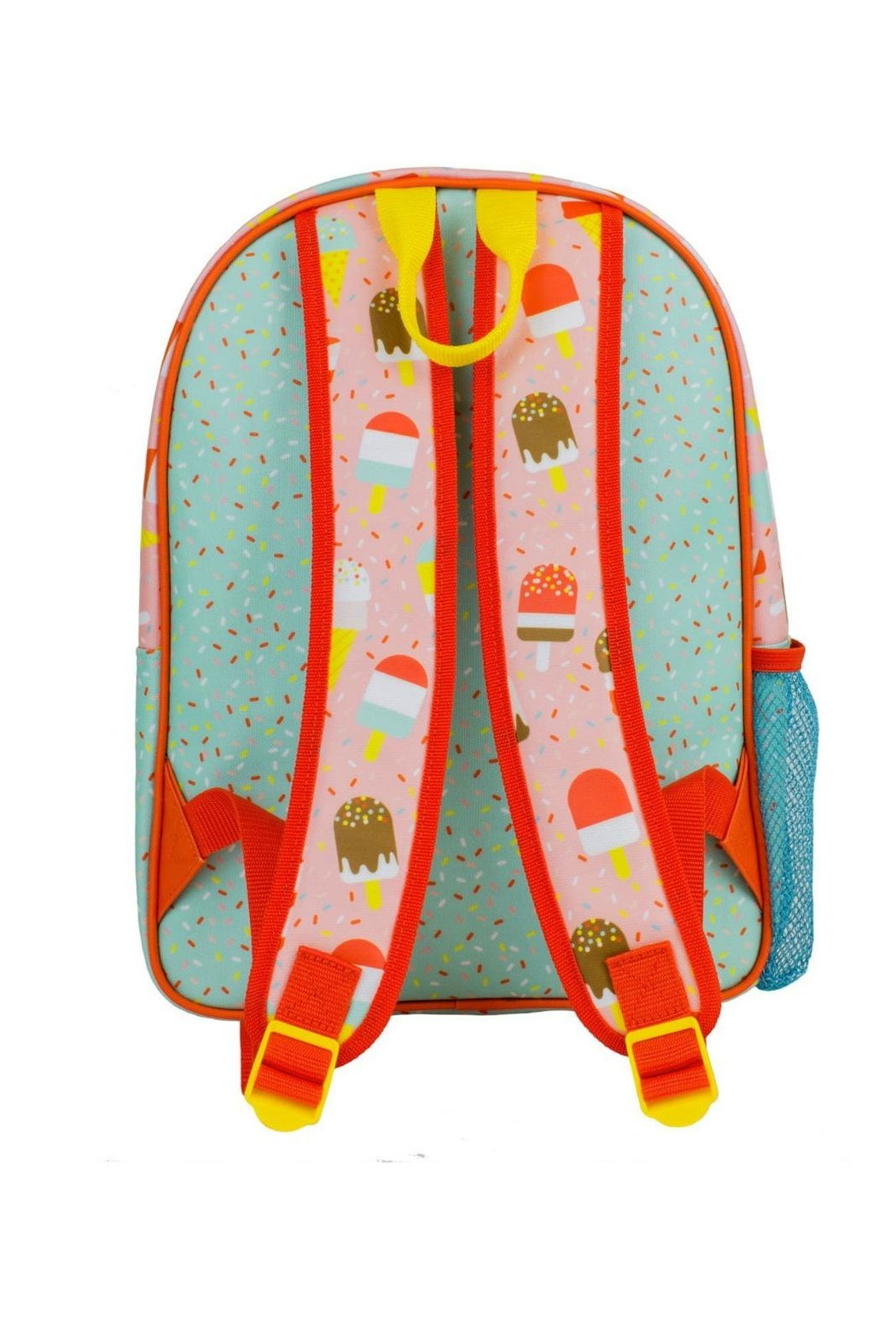 Petit Collage Ice Pops Backpack - Front Full Image