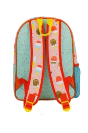 Petit Collage Ice Pops Backpack - Front full body
