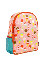 Petit Collage Ice Pops Backpack - Front cropped