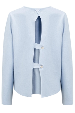 Shoptiques Product: Iceblue Sweater