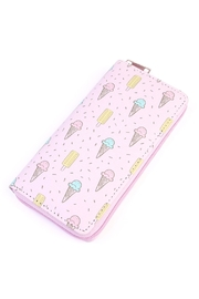 Riah Fashion Icecream Pink Wallet - Product Mini Image