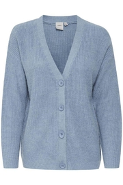 ICHI Allure Knitted Cardigan - Front cropped
