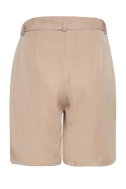 ICHI Blush Pocket Shorts - Front full body