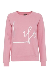 ICHI Bubblegum Pink Sweatshirt - Product Mini Image