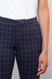 ICHI Grid Pattern Pants - Other