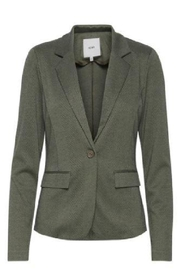 ICHI Kate Herrinbone Blazer - Product Mini Image