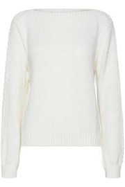 ICHI Milli Sweater - Front cropped