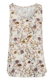 ICHI Pink Floral Top - Product Mini Image