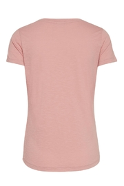 ICHI Pink Graphic T - Side cropped