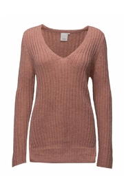 ICHI Pink Knit Sweater - Product Mini Image