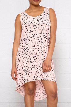 ICHI Printed Tank Dress - Product List Image