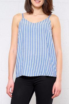 ICHI Striped Chambray Cami - Product List Image