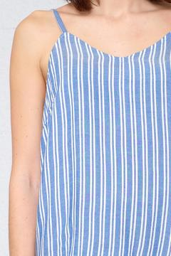 ICHI Striped Chambray Cami - Alternate List Image