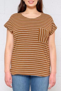 ICHI Striped Dolman Top - Product List Image