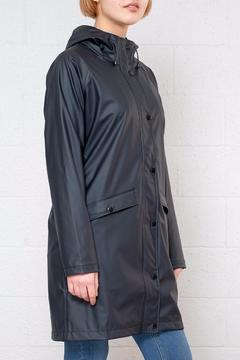 ICHI Tazi Slicker Trench Coat - Product List Image