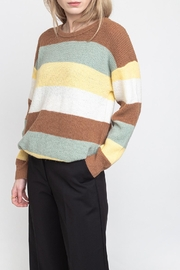 ICHI The Dusty Sweater - Front cropped