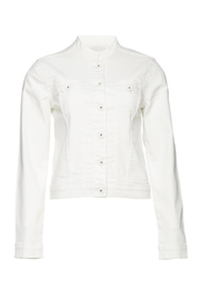 ICHI White Denim Jacket - Product Mini Image