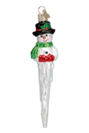 Old World Christmas Icicle Snowman Ornaments - Product Mini Image