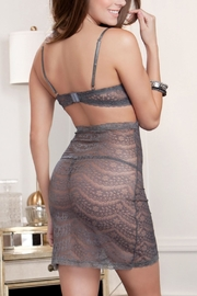 iCollection Cutaway Lace Chemise - Front full body