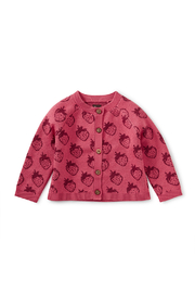 Tea Collection Icon Baby Cardigan - Product Mini Image