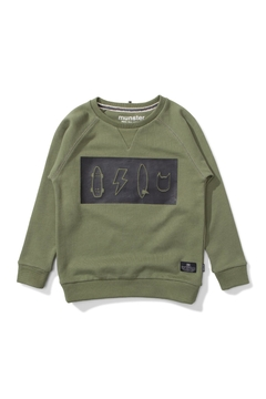 Shoptiques Product: Icon Banded Pullover