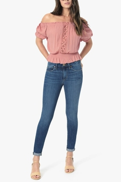 Shoptiques Product: Icon Crop Jeans Mallory