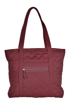 Shoptiques Product: Iconic Vera Tote Performance Berry Red