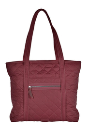 Vera Bradley Iconic Vera Tote Performance Berry Red - Product Mini Image