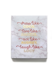 Lets Accessorize Iconic Wall Art - Front cropped