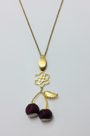 ICONIQUE Cherry Blossom Pendant - Front cropped