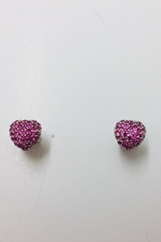 ICONIQUE Silver Love Earrings - Product Mini Image